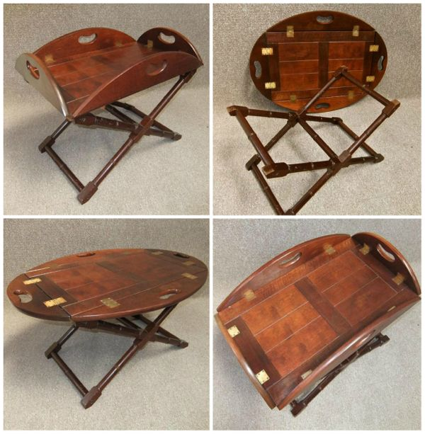 Chippendale style butler's table