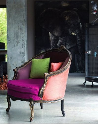 Cabriole chair which happens to have a cabriole leg