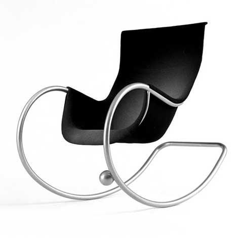 Eero Aarnio's Keinu rocking chair