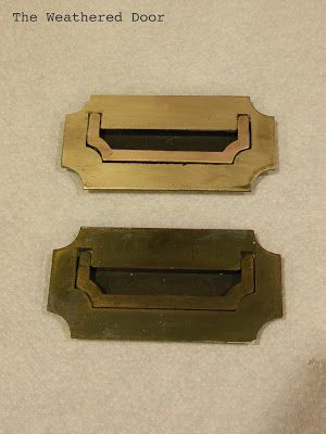 Typical recessed hardware