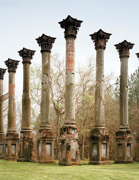 Ruins of Corinthian Columns at Windsor