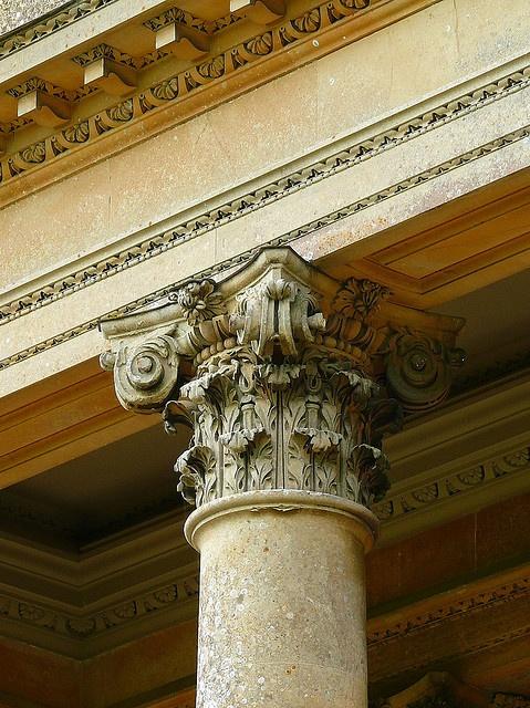 Composite Column in Stourton, England