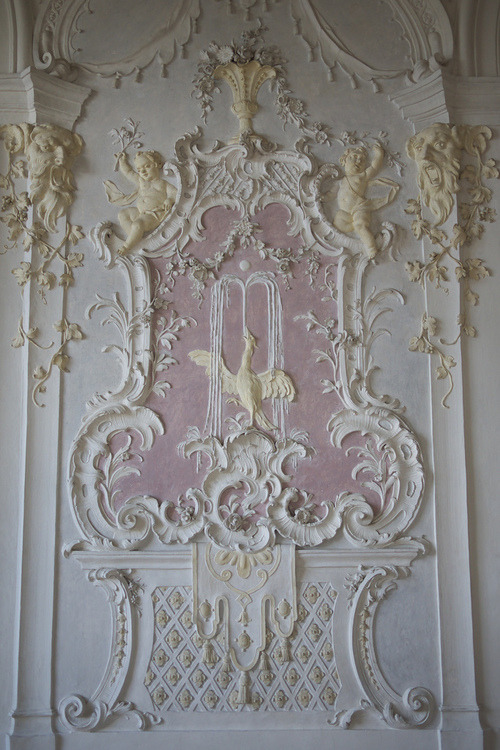 Architectural detail in the Rococo style