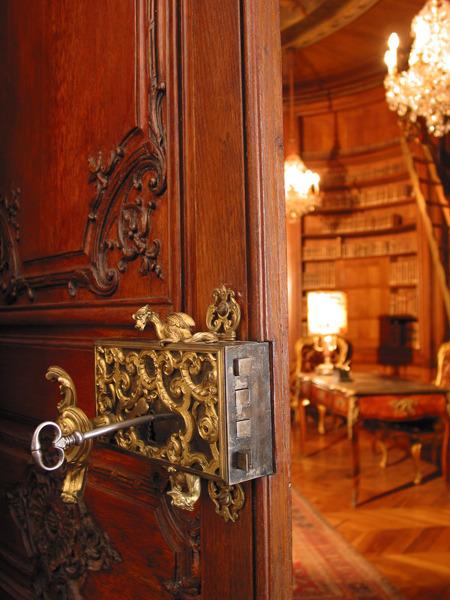 Rococo style hardware