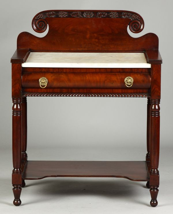 Serving table, 19th century.