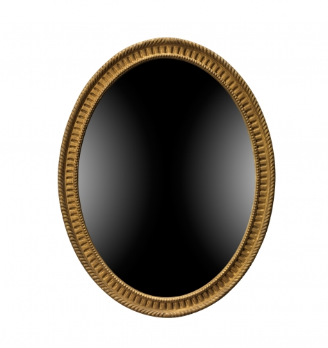 Reproduction mirror in the English Georgian style.