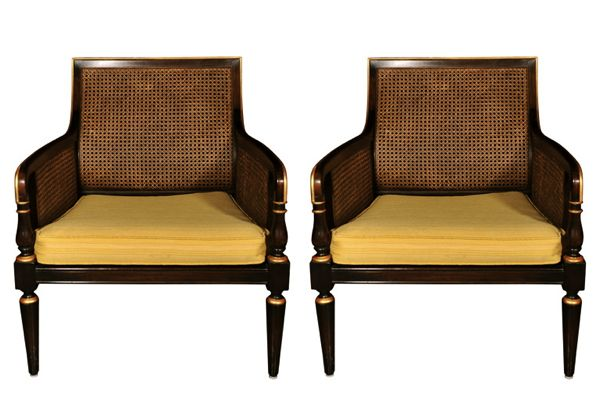 Chairs Attributed to Maison Jansen, c.1960s