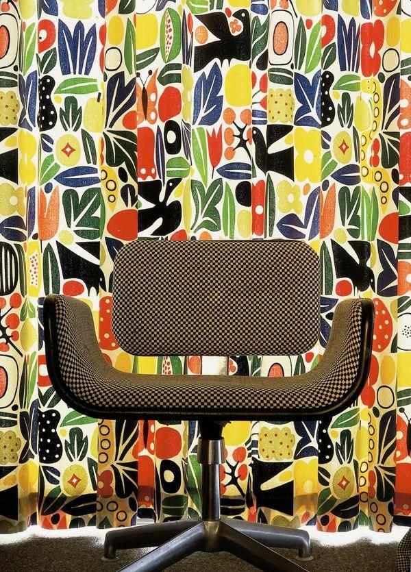 girard chair and fabric