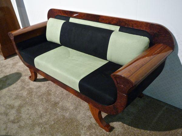 Biedermeier Revival sofa made by Gaisbauer