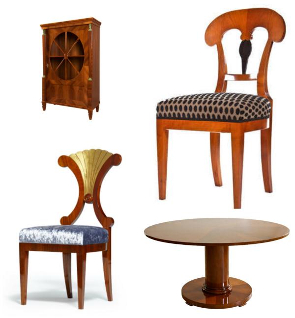 Biedermeier revival furniture by Gaisbauer