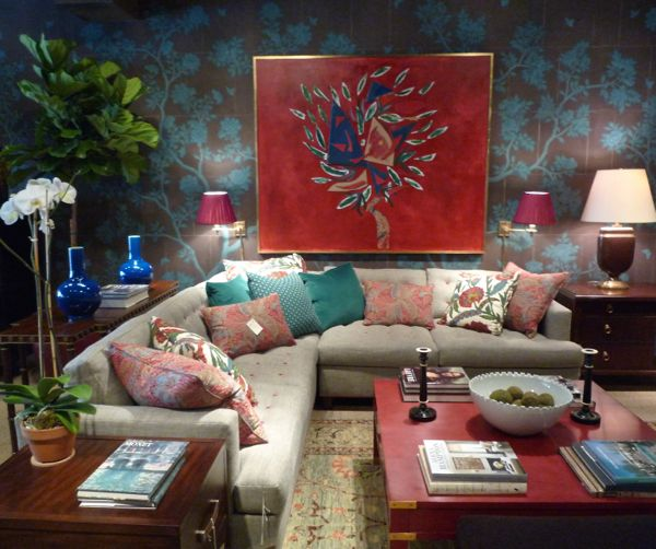 Art and interior design by Alexa Hampton