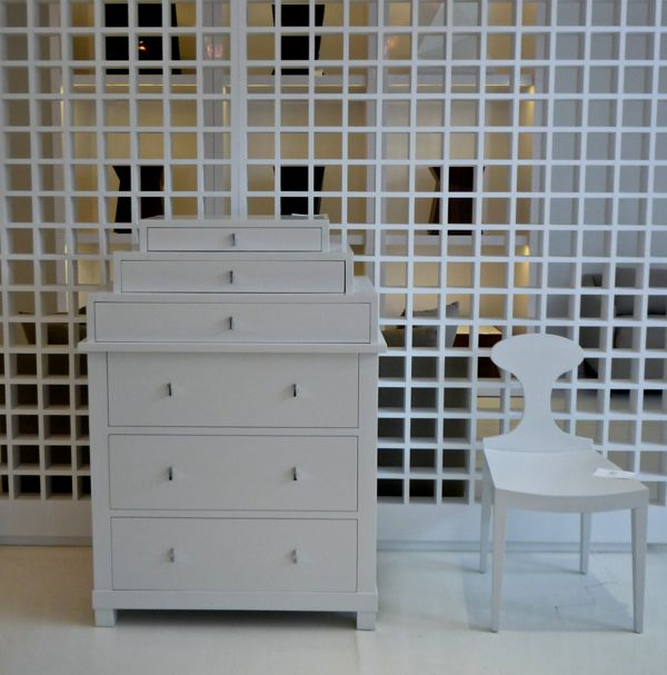 bolier biedemier chest and chair