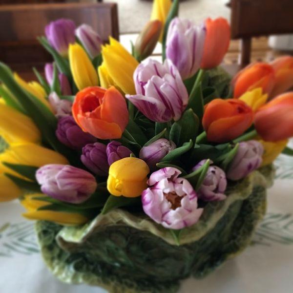 My Easter centerpiece