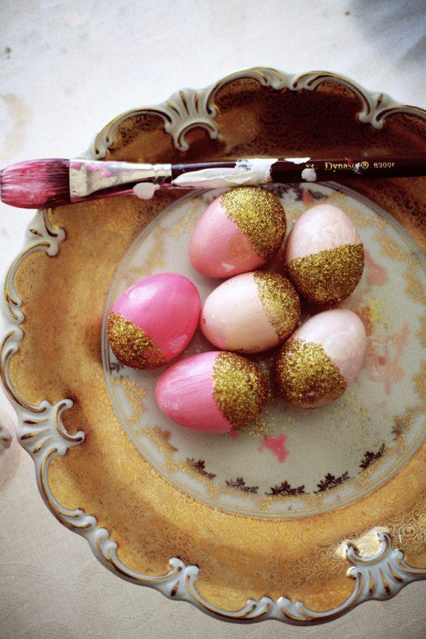 easter glitter eggs