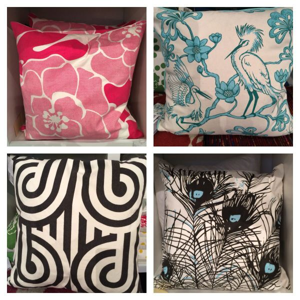 Florence Broadhurst pillows available at Surya