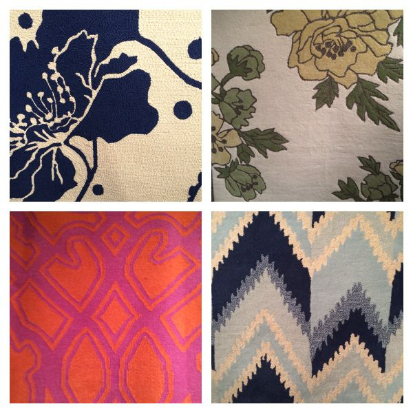 Details from Florence Broadhurst rugs available at Surya