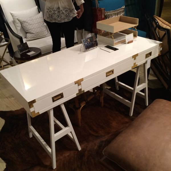 Another campaign style desk-this one at Selamat