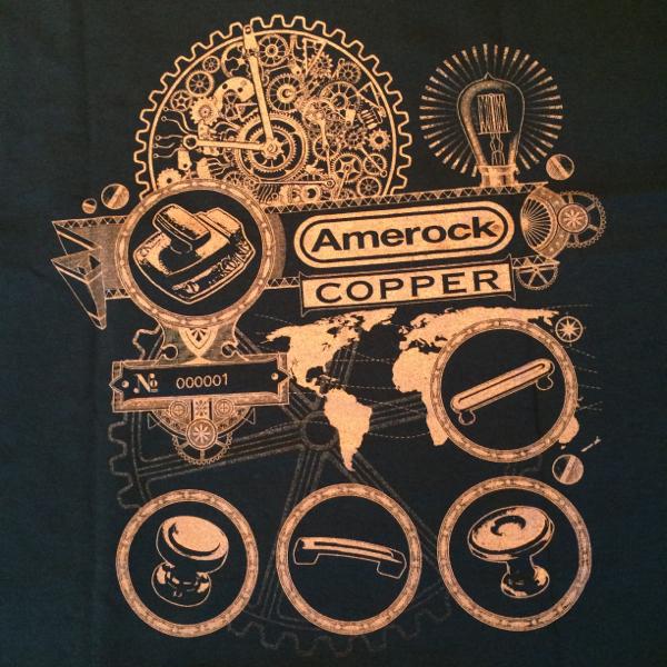 amerock copper tee shirt