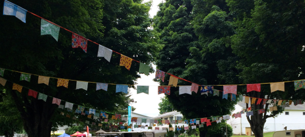 country living fair bunting