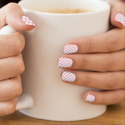 quatrefoil nail stickers