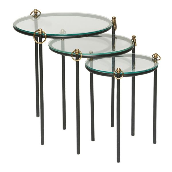 Nesting tables from Jacques Adnet