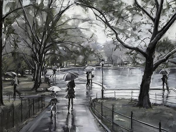 """Park Showers"" Susan Grossman"