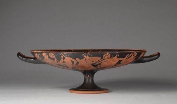 Drinking Cup (Kylix), c. 480 BC attributed to Douris (Greek)