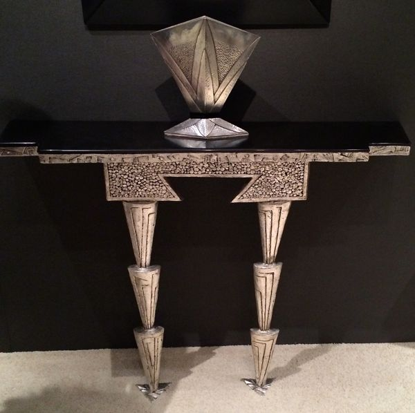 Console in the art deco style but made in 2013