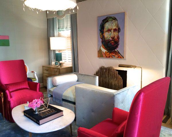 Patrick James Hamilton's room for Holiday House NYC 2014