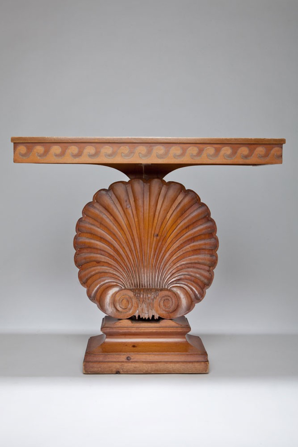 Edward Wormley's iconic shell console has more than a passing nod to antique forms.