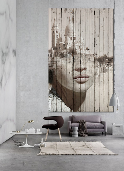 Wall Mura by Antonio Mora