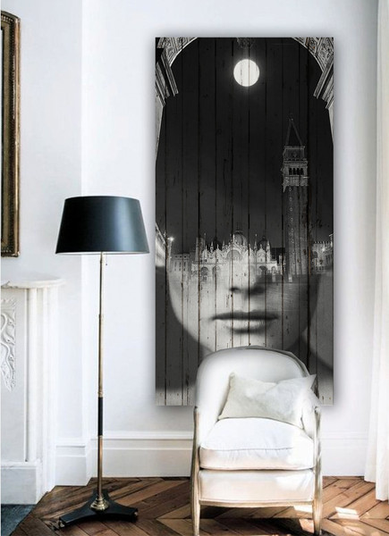 Wall mural by Antonio Mora