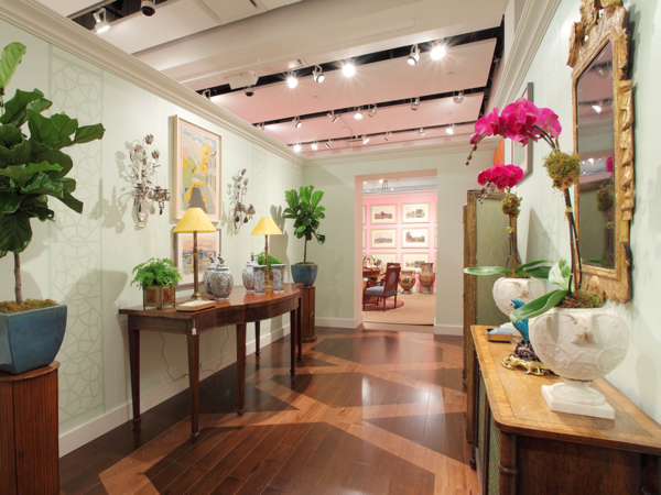Gallery designed by Allison Caccoma for Sotheby's Show House. Photo courtesy of Sotheby's.