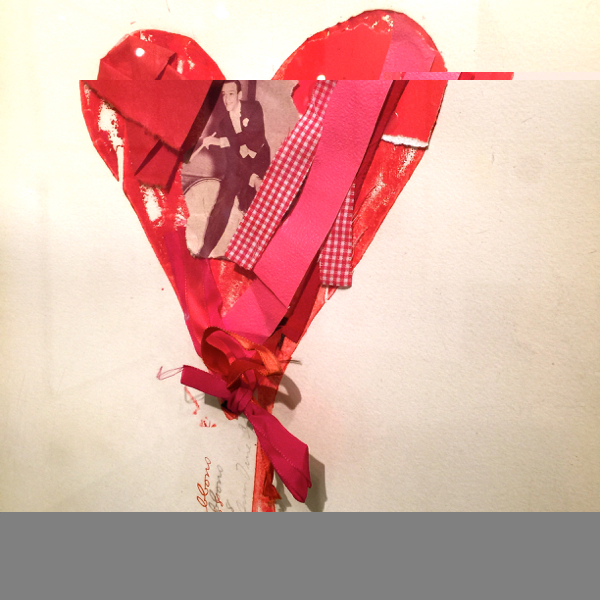 """""""Bleeding Heart with Ribbons and a Movie Star"""" Jim Dine"""