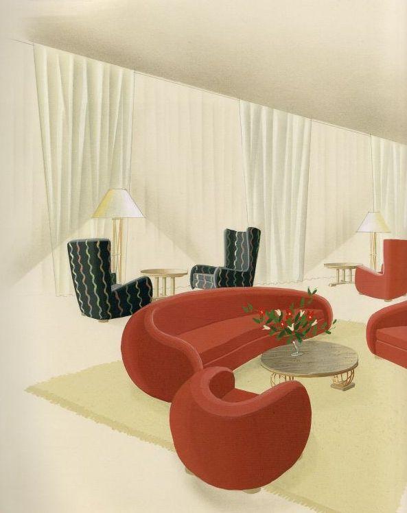 Jean Royere interior