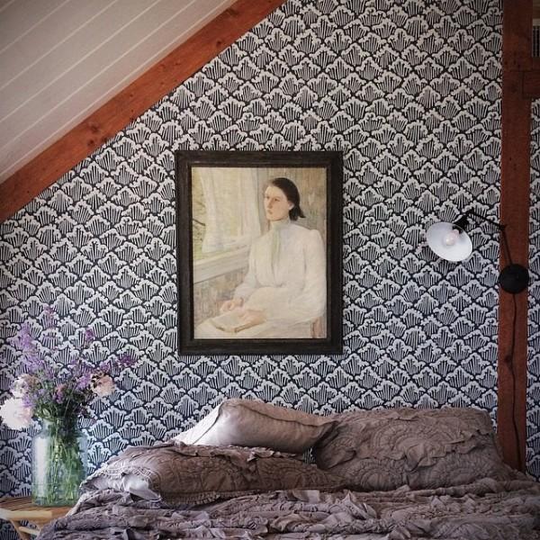 Interior design by Tara Mangini and Percy Bright. Their photo.