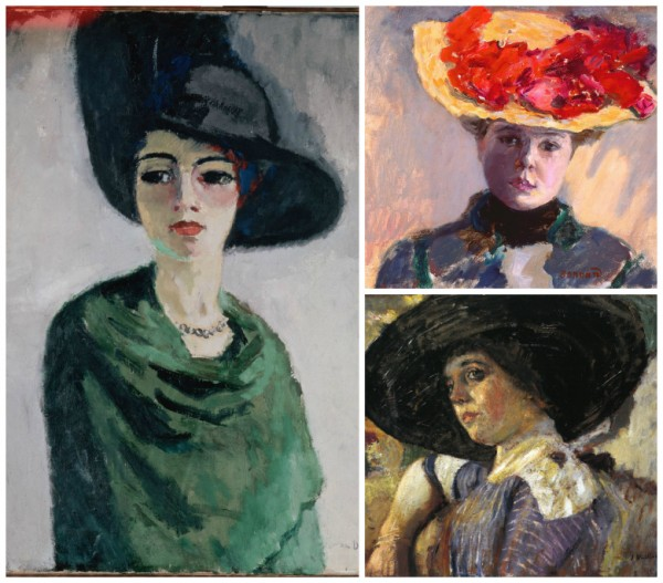 The art of Jean-Pierre Cassigneul is heavily influenced by these artists. Clockwise, Kees van Dongen, Pierre Bonnard and Edouard Vuillard.
