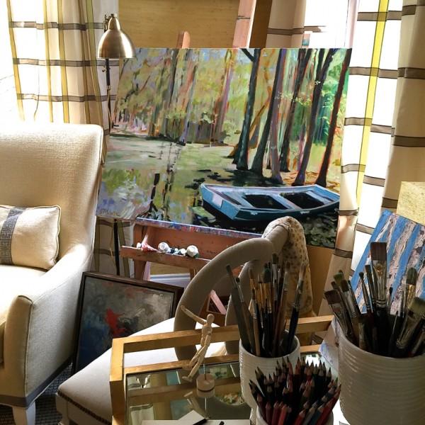 room-week-artist-retreat-easel