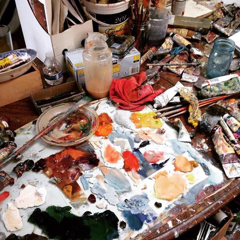 In the studio with Scott Hunter Fine Art