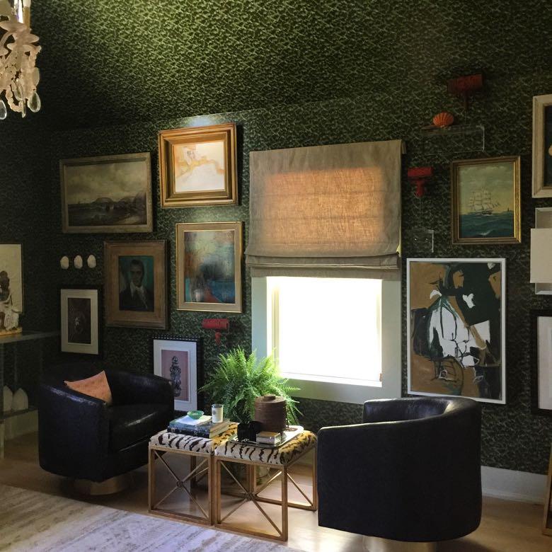 Interior design by Denise McGaha for the Hampton Designer Show House.