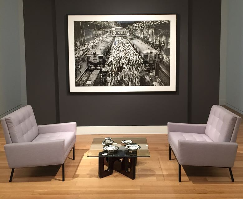 sotheby's living florence knoll chairs