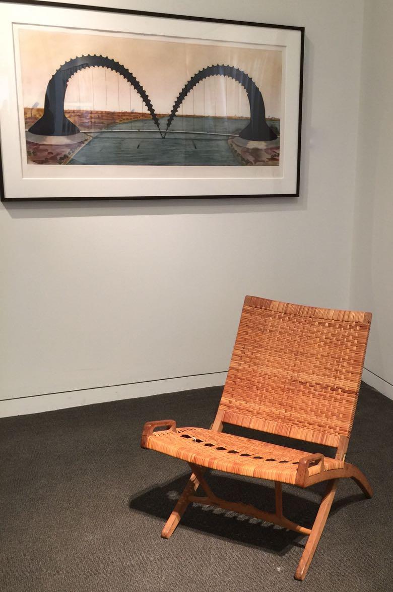 sotheby's living hans wegner chair