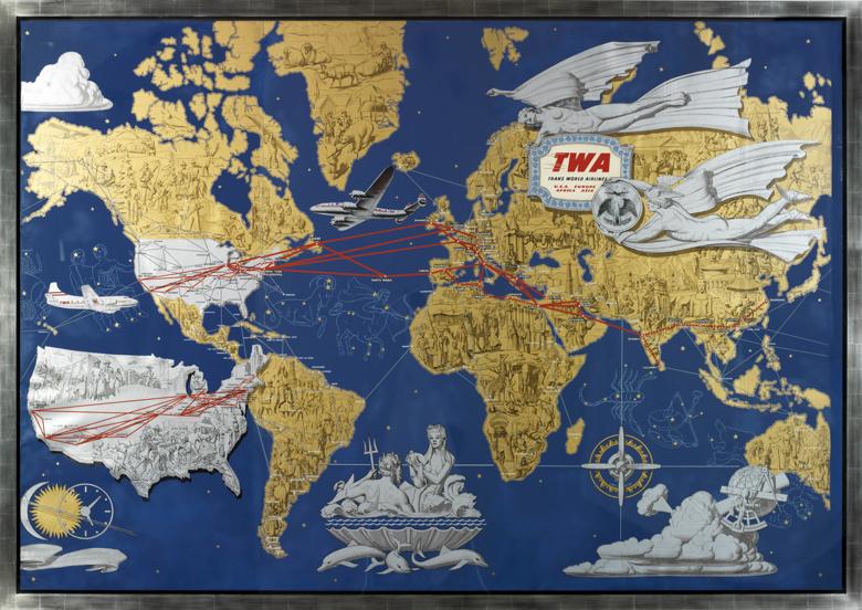 international show-twa map of the world
