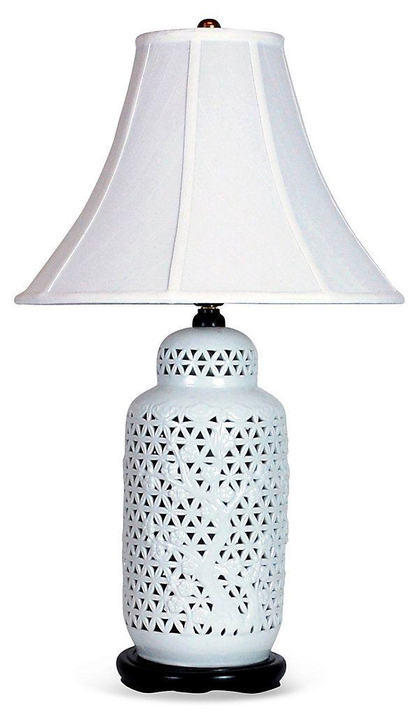design-dictionary-blanc de chine single lamp