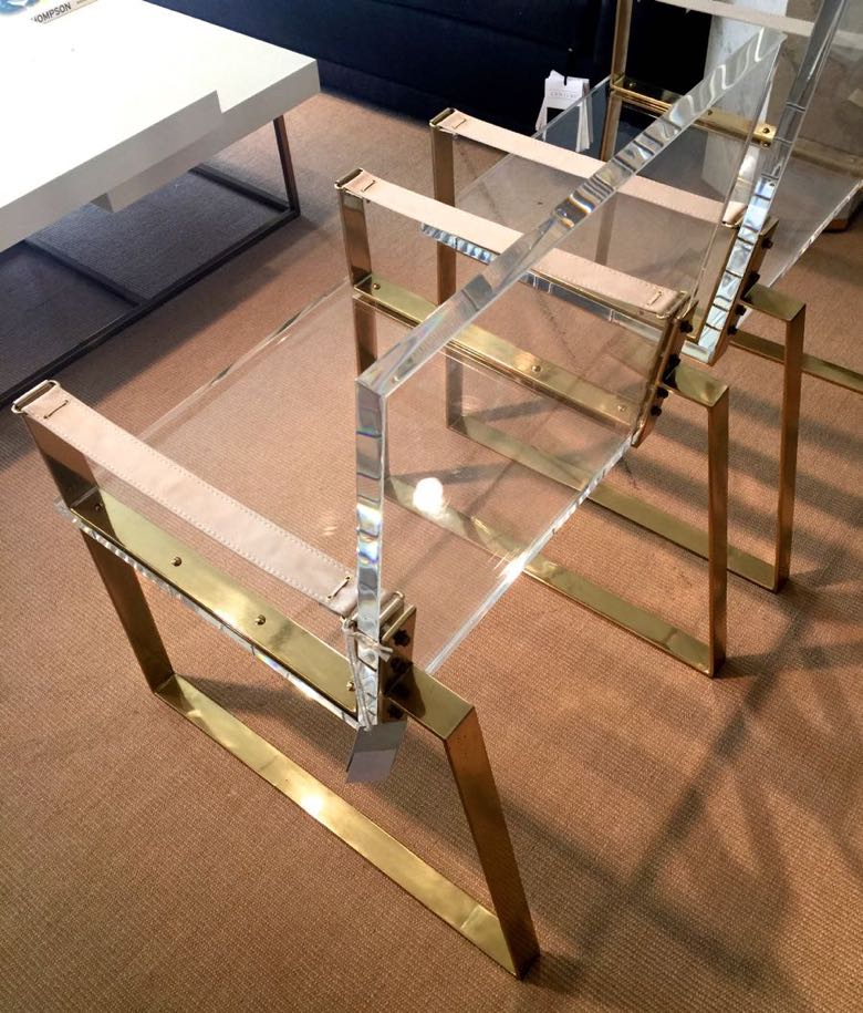Trends post century lucite chair