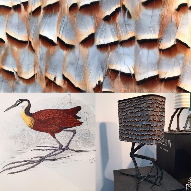 trends post bird lamps