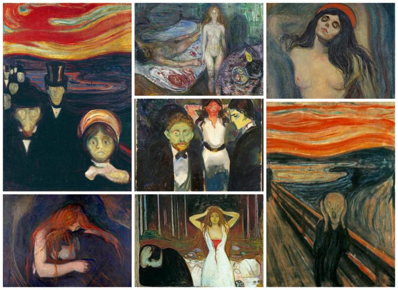 Art by Edvard Munch