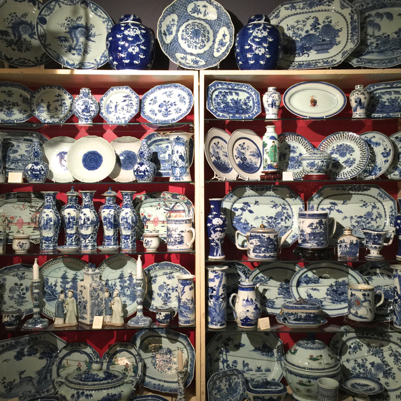 friday field trip- ceramics fair-blue and white