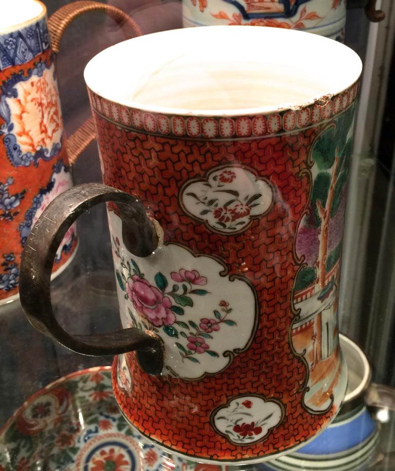 friday field trip -ceramics fair-carpenters ruler mug