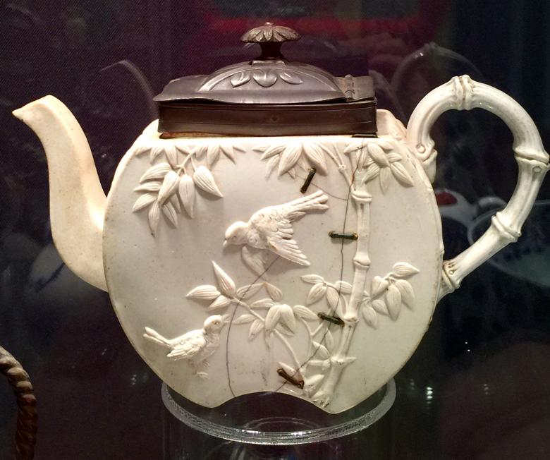 friday field trip-ceramics fair-stapled teapot